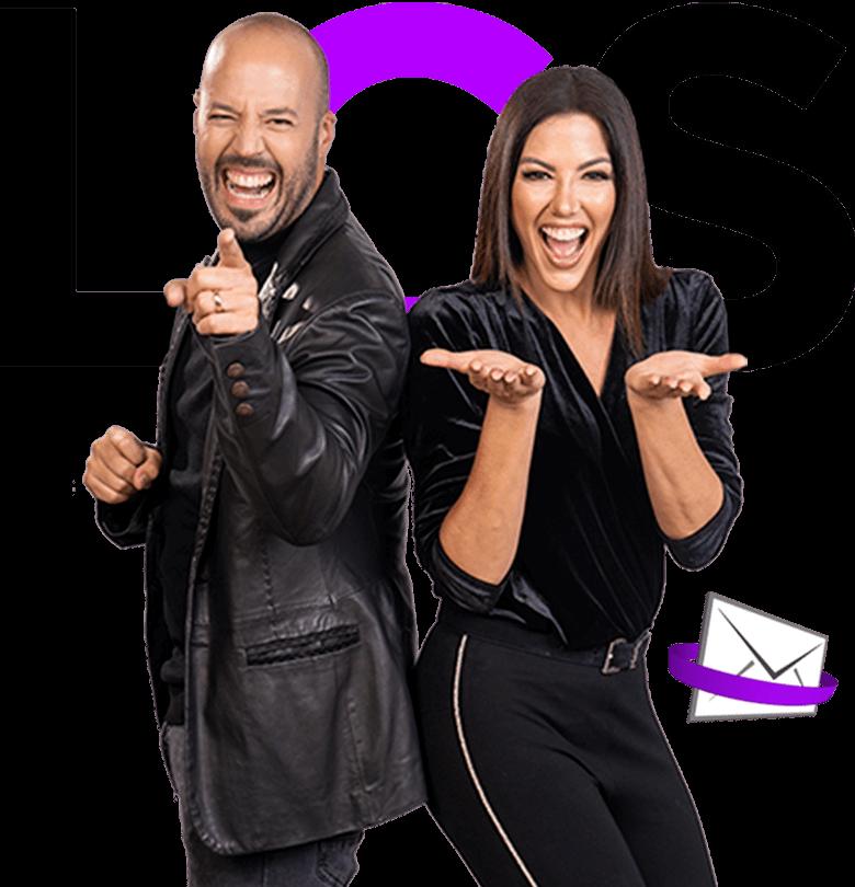 Daniela y Ramon invitan al newsletter